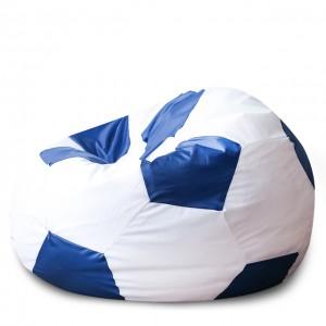 Кресло Мяч Бело-Синий, Оксфорд