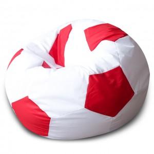 Кресло Мяч Бело-Красный, Оксфорд