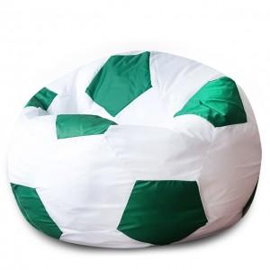 Кресло Мяч Бело-Зеленый, Оксфорд