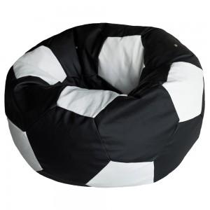 Кресло Мяч Черно-Белый, Оксфорд