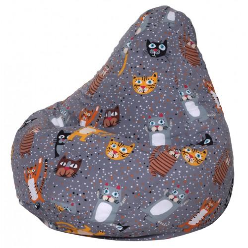 Кресло Мешок Cats, Жаккард