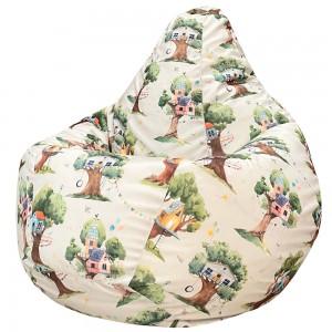 Кресло Мешок Домик на дереве, Велюр