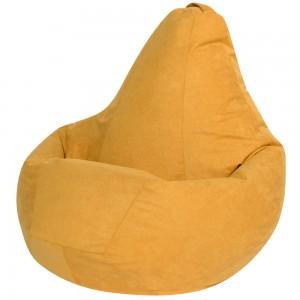 Кресло Мешок Желтый Велюр