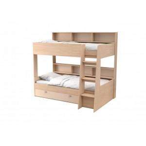 Двухъярусная кровать Golden Kids 1 (Дуб молочный)