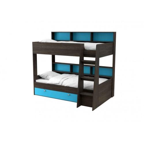 Двухъярусная кровать Golden Kids 1 (Венге)