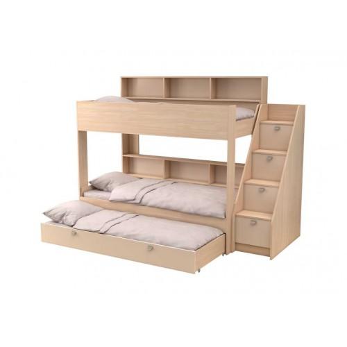 Двухъярусная кровать Golden Kids 10.1 (Дуб молочный)