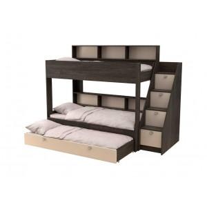 Двухъярусная кровать Golden Kids 10.1 (Венге)