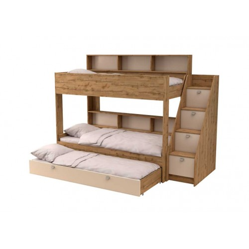 Двухъярусная кровать Golden Kids 10.1 (Дуб Вотан)