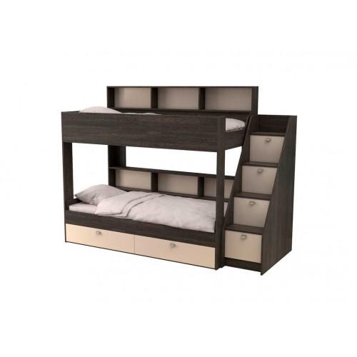 Двухъярусная кровать Golden Kids 10 (Венге)