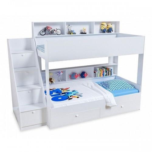 Двухъярусная кровать Golden Kids 10 (Белый)