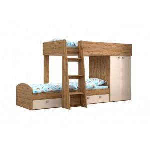Двухъярусная кровать Golden Kids 2 (Вотан)