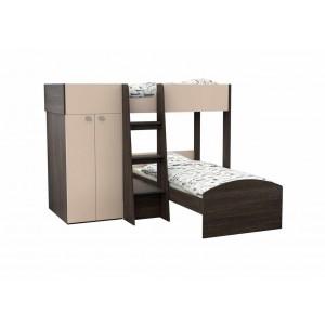 Двухъярусная кровать Golden Kids 4 (Венге)
