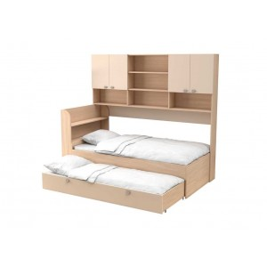 Двухъярусная кровать Golden Kids 8 (Дуб молочный)
