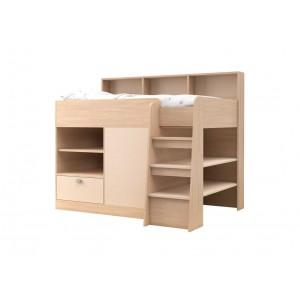 Двухъярусная кровать для детей Golden Kids 9 (Дуб молочный)