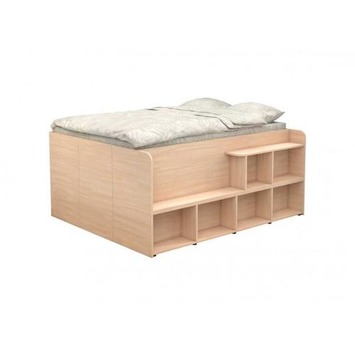 Двухспальная кровать Twist UP
