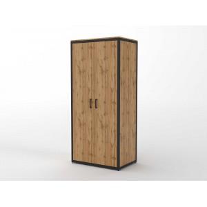 Шкаф распашной со штангой  (ЭЛ8)