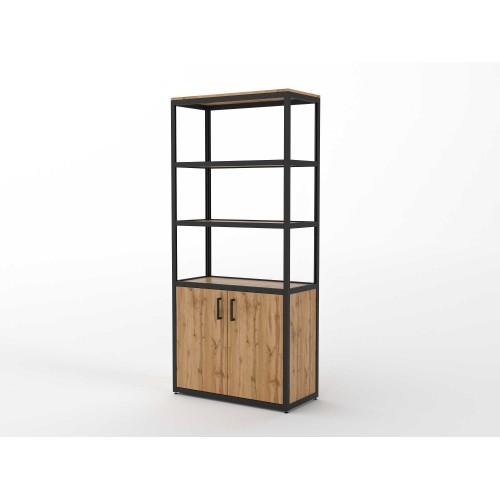 Шкаф-стеллаж широкий  (ЭЛ15)
