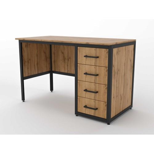 Стол письменный с четырьмя ящиками (ЭЛ11)